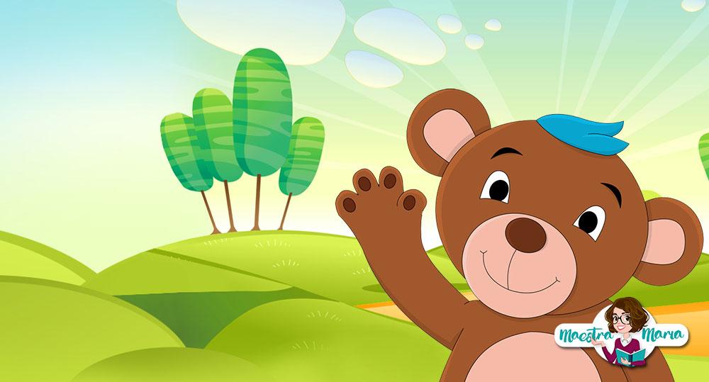 L'orsetto Celestino – storia e lavoretto per l'accoglienza