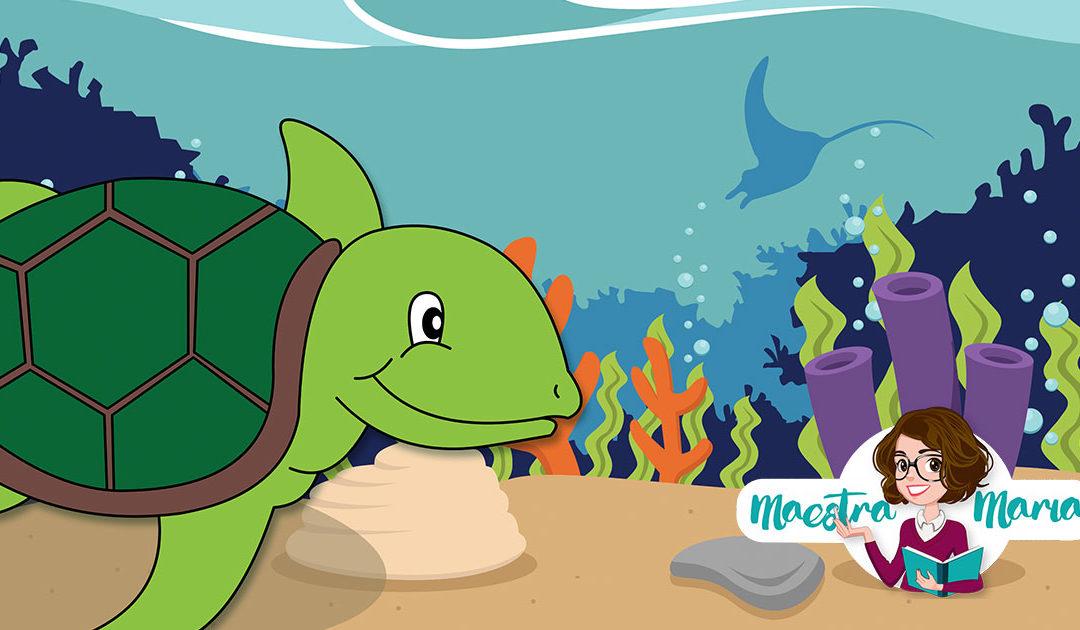 La tartaruga Alghetta – storia per l'accoglienza
