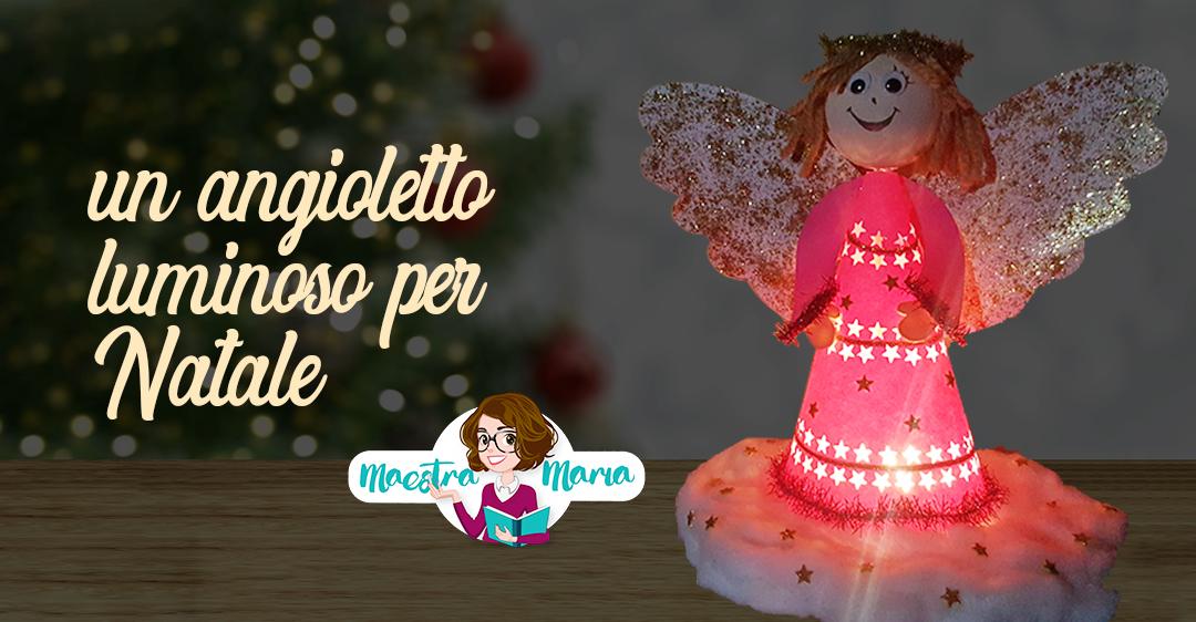 Un angioletto luminoso per Natale