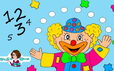I numeri del pagliaccio di Carnevale: poesia e schede didattiche